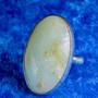 Sormus: kryso-opaali 18,7mm säädettävä, ovaali kivi 20x33mm. Unikki!