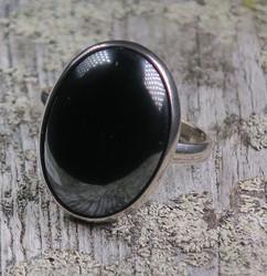 Hopeasormus hematiitti 22,3mm ovaali kivi 18x23mm nro2