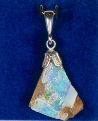 Riipus: Jalo-opaali (Australia), Opal, 14x20mm+lenkki (b)