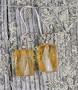 Korvakorut: sitriini, viistehiottu