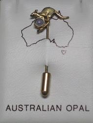 Rintakoru: Jalo-opaali (Australia), Opal, kenguru