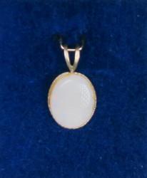 Riipus: Jalo-opaaliriipus (Australia), Opal, 8x10mm+lenkki (J)