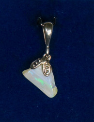 Riipus: Jalo-opaali (Australia), Opal, 7x10x11mm+lenkki (k)