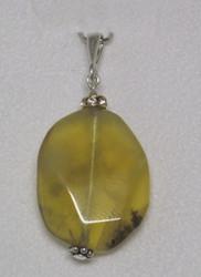 Riipus: Opaali, keltainen 18+22mm zirkonikoristein+lenkki