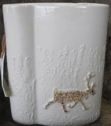 Maljakko: Talviporo, korkeus n.14cm