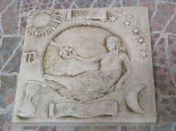 Taulu Neitsyt, horoskooppitaulu, koko 20x20cm