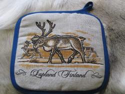 Patalappu porot, Lapland Finland 20x20cm