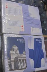 Pelikortit: Suomi/ 54 yleistietokorttia ja 54 matkailuvinkkiä (sis.2 korttipakkaa) englanniksi ja suomeksi.