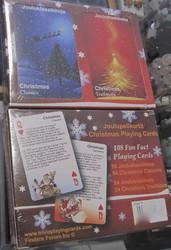 Pelikortit: Joulu/ 54 jouluklassikkoa, 54 joulutraditiota (2 korttipakkaa) tekstit suomeksi ja englanniksi