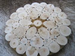 Pannunalunen: kataja, halkaisija 15cm