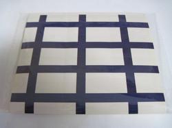 Tarra-arkki  Suomenlippu 12 kpl, koko 25x40mm