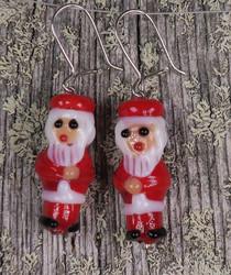 Korvakorut: Joulupukkikorvakorut, lasia