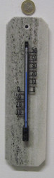 Lämpömittari: Marmori 25x7cm