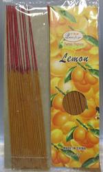 Suitsuke: Lemon (sitruuna), pakkauksessa  20 kpl 28cm pitkiä suitsukkeita