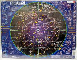 Palapeli Tähdistöt pohjoisella taivaalla 28,5x36,5cm, 70 palaa