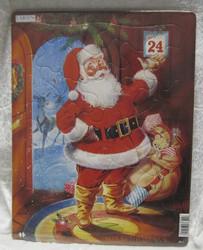 Palapeli: Joulupukki jouluaattona 28,5x36,5cm, 26 palaa
