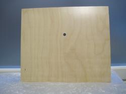 Kellotarvikkeet kellopohja 32x27, 10mm