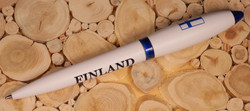 Kuivamustekynä Finland, Suomen lippu, valkoinen