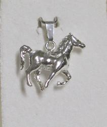 Hopeariipus hevonen 925-hopea