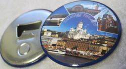 Magneetti/pullonavaaja: Helsinki, nähtävyydet