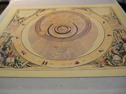 Juliste Astrologia, planeetat 40x50cm