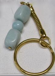 Avaimenperä opaali sinivihreä 3