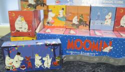 Ihmekuutio Muumit-Moomin. piirretyt kuvat
