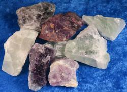 Fluoriitti raakapala violetti tai vihreä 20-30g Kiina