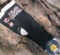 Sukat Finland original, koko 36-42, musta-vaaleanpunainen RUUSUT
