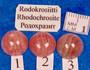 Kapussi rodokrosiitti, vaaleanpunainen 12mm pyöreä cabochon