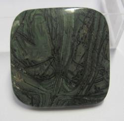 Kapussi tinguaiitti 33x33mm neliö  cabochon harvinainen kivi