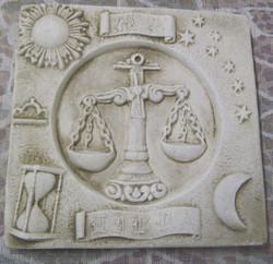 Taulu VAAKA LIBRA horoskooppitaulu 20x20cm