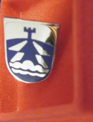 Pinssi ilmavalvonta Suomen armeijan koulutushaara rintamerkki