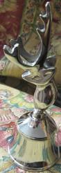 Kilikello Poro, korkeus 16cm, kellon halkaisija 5,8cm