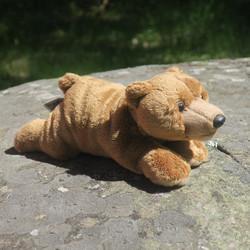 Pehmolelu Karhu makaava 23cm