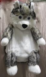 Reppu husky Lapland  koirareppu lapsille, kids