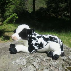 Pehmolelu lehmä 80cm Holstein-Friisiläinen vasikka. Ihana ja iso!