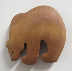 Magneetti Karhu lämpökäsiteltyä puuta koivu/haapa
