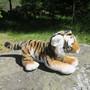 Pehmolelu Tiikeri 30cm, pituus kuonosta hännänpäähän 55cm