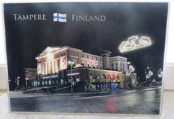 Leikkuulauta/tarjoilualusta: Tampere, koko 20x28cm, lasia