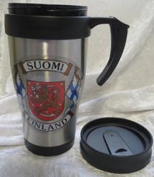 Termosmuki Suomi-Finland, Suomenliput, vaakunaleijona