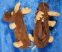 Kynäkotelo Hirvi pehmolelu penaali 28cm, vetoketju