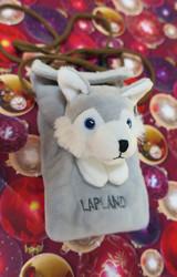 Olkalaukku Husky, Lapland kännykkäpussukka lapsille, kids
