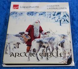 Lasinalunen joulupukki ja porotokka, Arctic circle