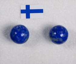 Nappikorvakorut Lapis latsuli 8mm