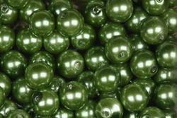 Helmi 7mm synteettinen vihreä Irtohelmi