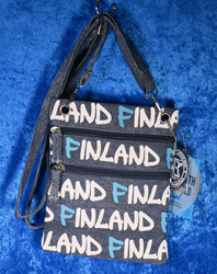 Passipussi, passport bag: Finland/ Farkku