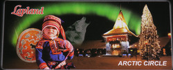3D-Magneetti: Napapiiri-Arctic circle, 12,5x5,5cm