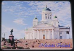 3D-magneetti: Helsinki, Tuomiokirkko 8x6cm