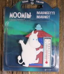 Magneetti Muumipeikko ja lämpömittari